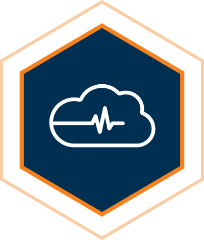 Managed Cloud Monitoring Icon